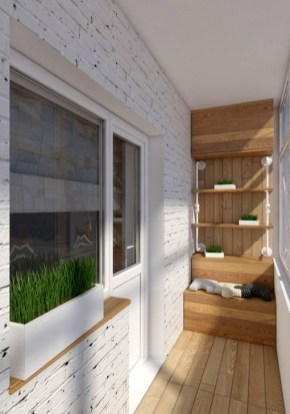 Awesome Small Balcony Ideas To Make Your Apartment Look Great 35