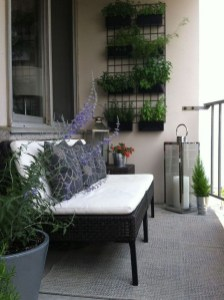 Awesome Small Balcony Ideas To Make Your Apartment Look Great 37
