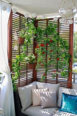 Awesome Small Balcony Ideas To Make Your Apartment Look Great 41