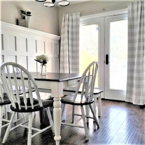 Beautiful White Curtains For Home With Farmhouse Style 35