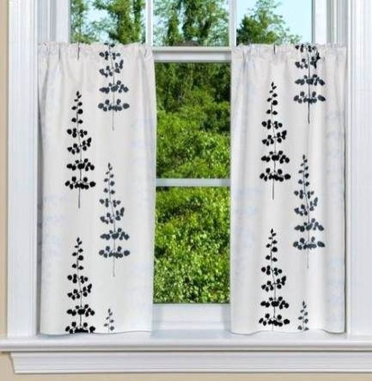 Beautiful White Curtains For Home With Farmhouse Style 41