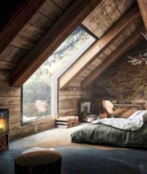 Comfy Attic Bedroom Design And Decoration Ideas 24