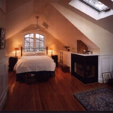 Comfy Attic Bedroom Design And Decoration Ideas 35