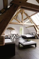 Comfy Attic Bedroom Design And Decoration Ideas 48
