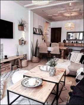 Cool Rustic Living Room Decor Ideas For Your Home 16