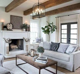 Cool Rustic Living Room Decor Ideas For Your Home 31