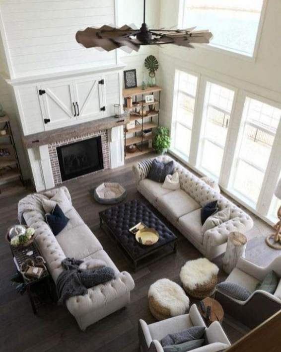 Cool Rustic Living Room Decor Ideas For Your Home 45