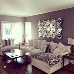 Cute Purple Living Room Design You Will Totally Love 28