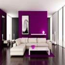 Cute Purple Living Room Design You Will Totally Love 43