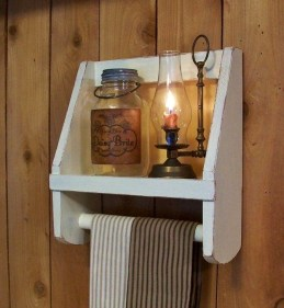 Easy DIY Towel Racks Ideas That You Can Do This 03