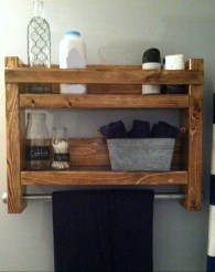 Easy DIY Towel Racks Ideas That You Can Do This 10