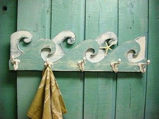 Easy DIY Towel Racks Ideas That You Can Do This 21