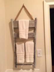 Easy DIY Towel Racks Ideas That You Can Do This 22