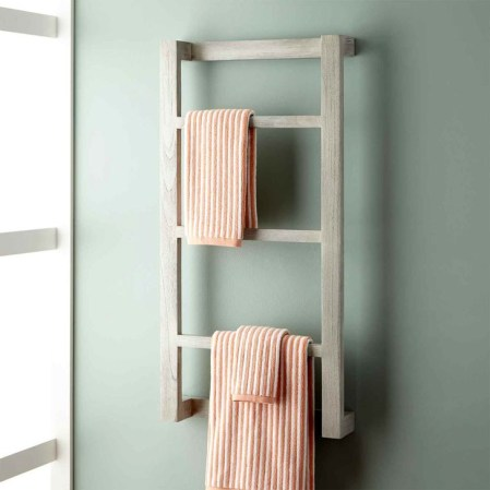 Easy DIY Towel Racks Ideas That You Can Do This 35