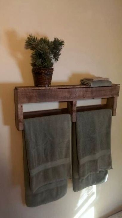 Easy DIY Towel Racks Ideas That You Can Do This 38