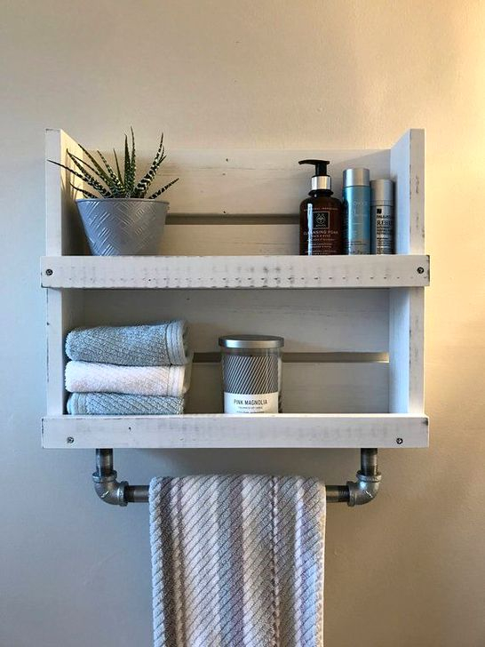 Easy DIY Towel Racks Ideas That You Can Do This 41
