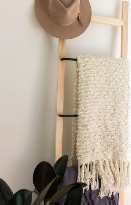 Easy DIY Towel Racks Ideas That You Can Do This 46