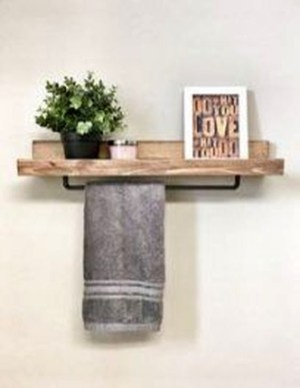 Easy DIY Towel Racks Ideas That You Can Do This 48