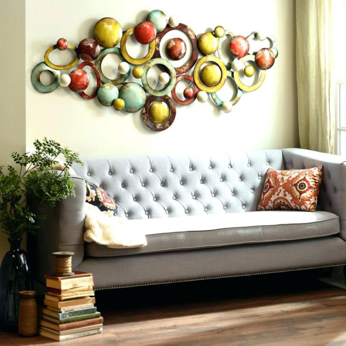 Fabulous Metal Wall Decor Ideas For Your Living Room 14
