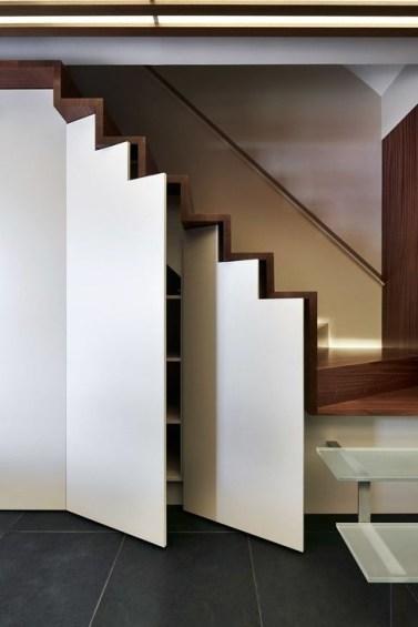 Genius Under Stairs Storage Ideas For Minimalist Home 15