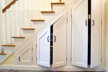 Genius Under Stairs Storage Ideas For Minimalist Home 26