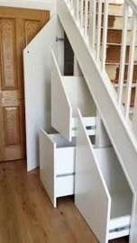 Genius Under Stairs Storage Ideas For Minimalist Home 36