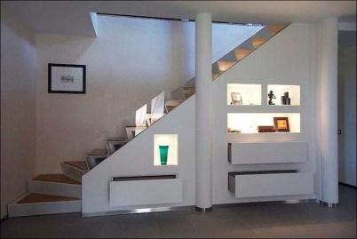 Genius Under Stairs Storage Ideas For Minimalist Home 38