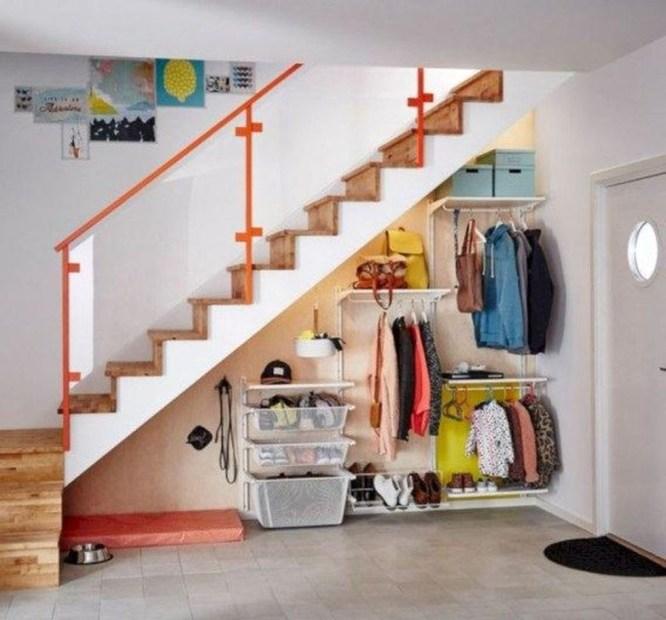 Genius Under Stairs Storage Ideas For Minimalist Home 41