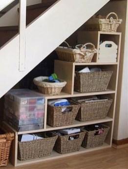 Genius Under Stairs Storage Ideas For Minimalist Home 49