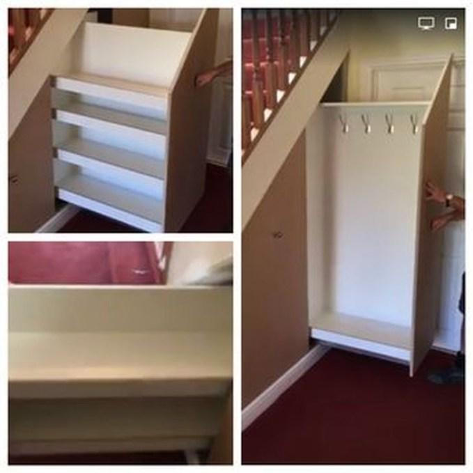 Genius Under Stairs Storage Ideas For Minimalist Home 55