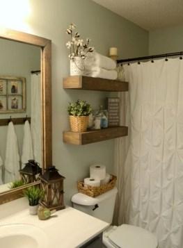 Inspiring Bathroom Decoration Ideas With Farmhouse Style 06