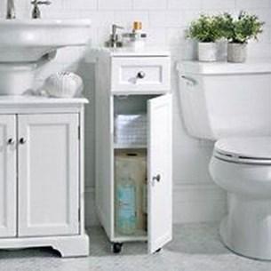 Inspiring Bathroom Design Ideas With Amazing Storage 01