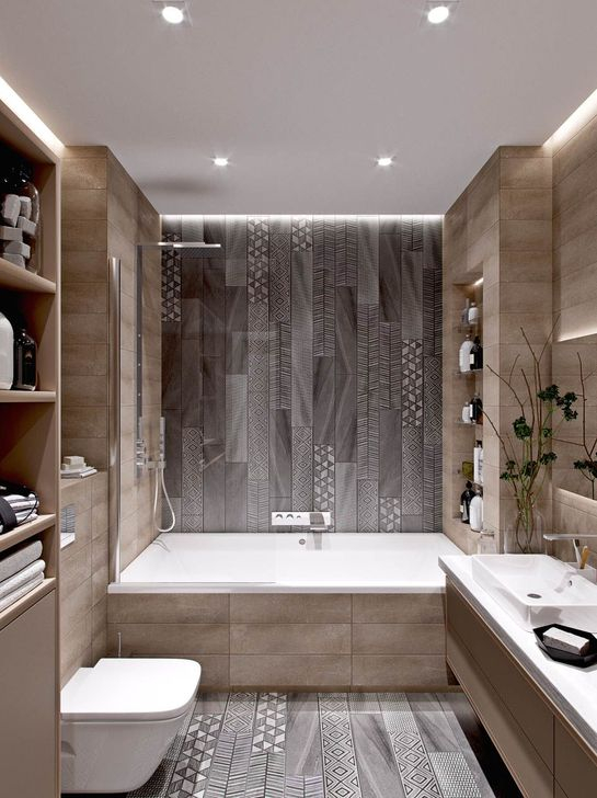 Inspiring Bathroom Design Ideas With Amazing Storage 03