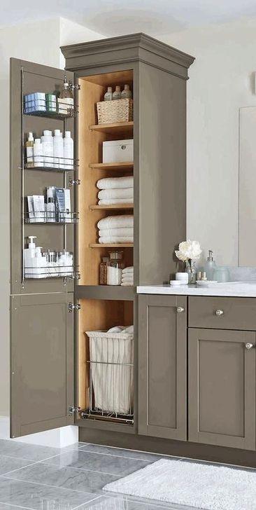 Inspiring Bathroom Design Ideas With Amazing Storage 04