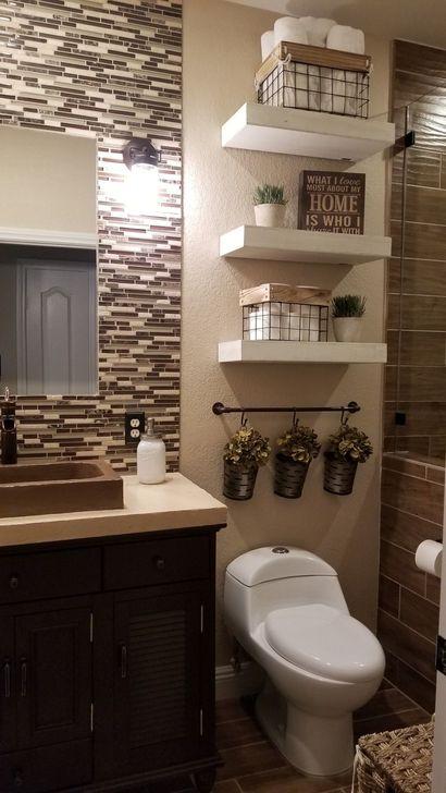 Inspiring Bathroom Design Ideas With Amazing Storage 14
