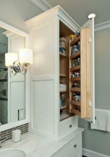 Inspiring Bathroom Design Ideas With Amazing Storage 49