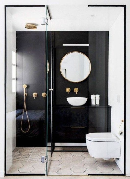 Inspiring Bathroom Design Ideas With Amazing Storage 50