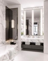 Luxurious Furniture To Upgrade Your Elegant Bathroom 23