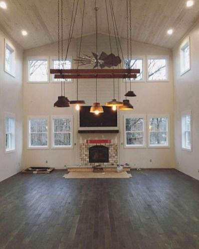 Magnificient Farmhouse Ladder Chandelier Ideas 47