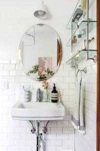 Perfect Glass Shelves Ideas For Bathroom Design 25