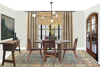 Popular Organic Dining Room Design Ideas 21