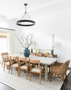 Popular Organic Dining Room Design Ideas 48