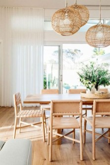 Popular Organic Dining Room Design Ideas 51