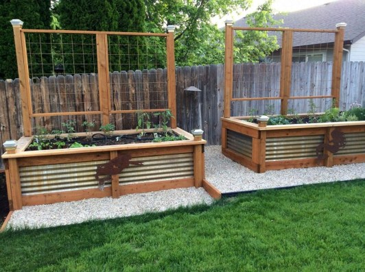 Stunning DIY Garden Bed To Beautify Your Backyard 03