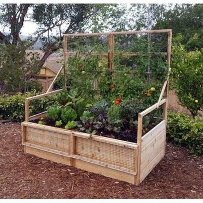 Stunning DIY Garden Bed To Beautify Your Backyard 04