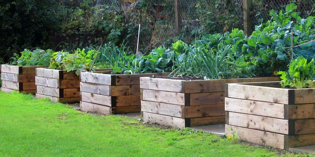 Stunning DIY Garden Bed To Beautify Your Backyard 09