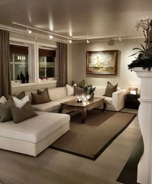 Wonderful Lighting Ideas In The Living Room 46