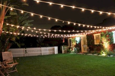 Astonishing Outdoor Lights For Decorating Backyards In Summer 23