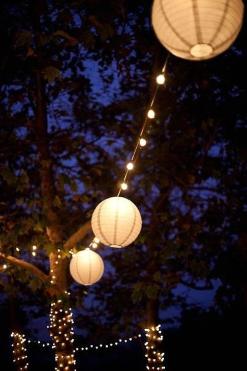 Astonishing Outdoor Lights For Decorating Backyards In Summer 26