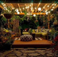 Astonishing Outdoor Lights For Decorating Backyards In Summer 39